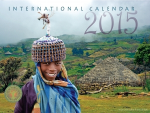 2015 Calendar Front cover